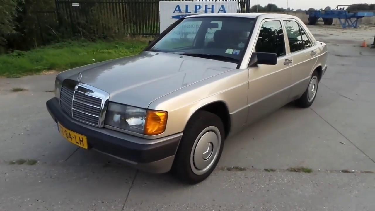 Mercedes 190 Diesel The Last Classic Model Youtube