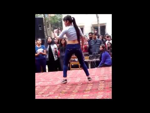 Best india's girls dance performance on stage in college 2016