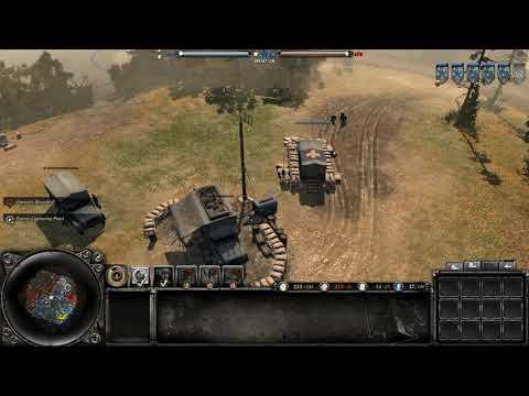 Company Of Heroes 2 Okw 1 2 Vs 2 Youtube