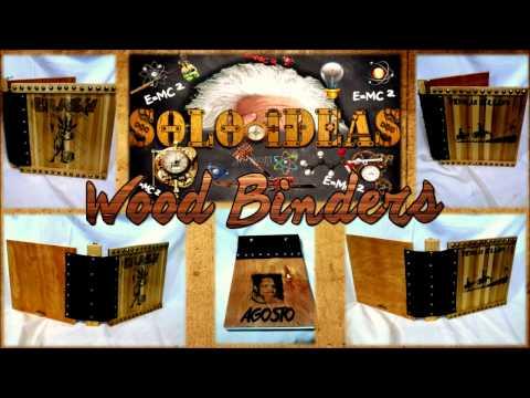 DIY Gifts!! Wood Binders( Carpetas de madera)