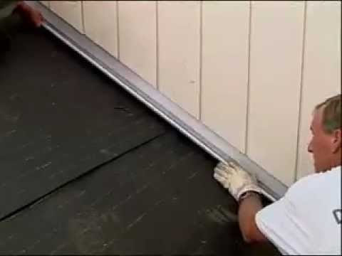 Decra Shingle Install Roof To Wall Flashing Part 6 Of