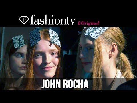 John Rocha Fall/Winter 2014-15 Backstage | London Fashion Week LFW | FashionTV