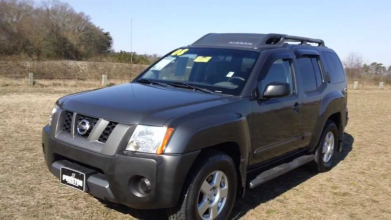 Used Car Sale Maryland 2008 Nissan Xterra Youtube