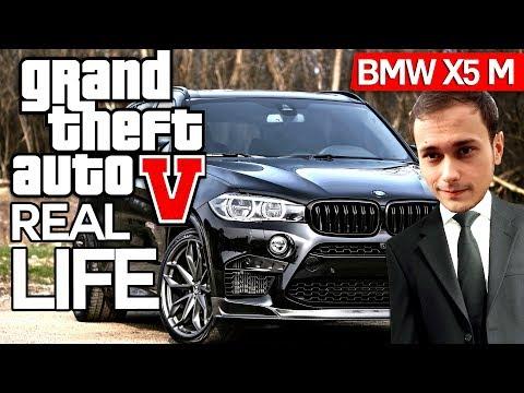GTA Real Life ! BMW X5 M de MAFIE, Jefuim lumea!