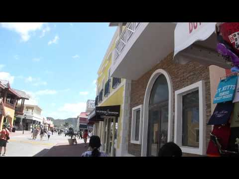 Shopping at St Kitts Harbor