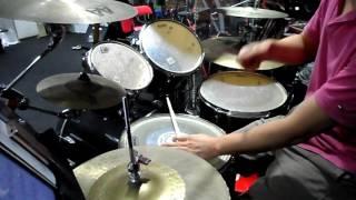 梁漢文 - 纏綿遊戲 Drum cover by Kac Yau