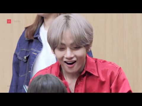 TAEHYUNG IS SURPRISED TO SEE AN ARMY CHILD