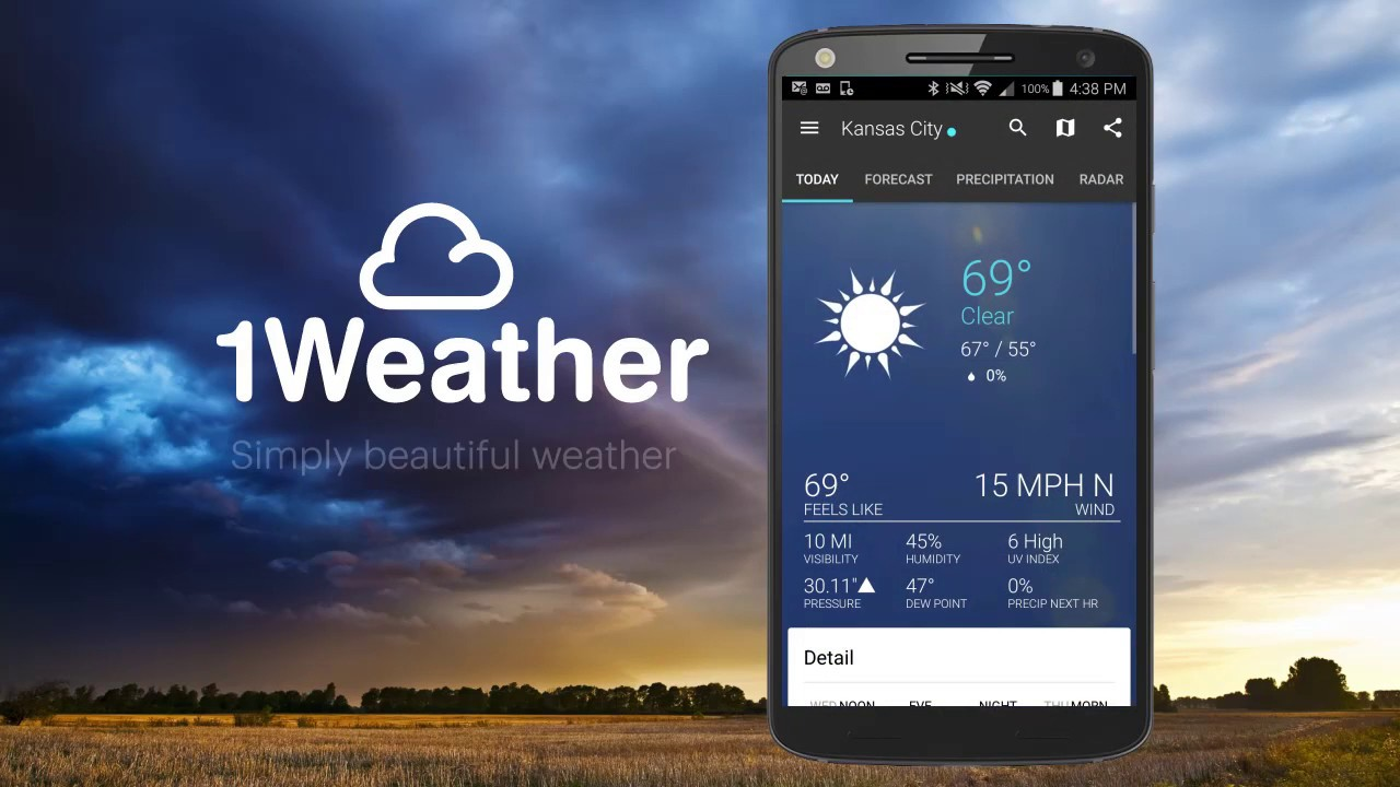 Meet 1Weather 4.0 - YouTube