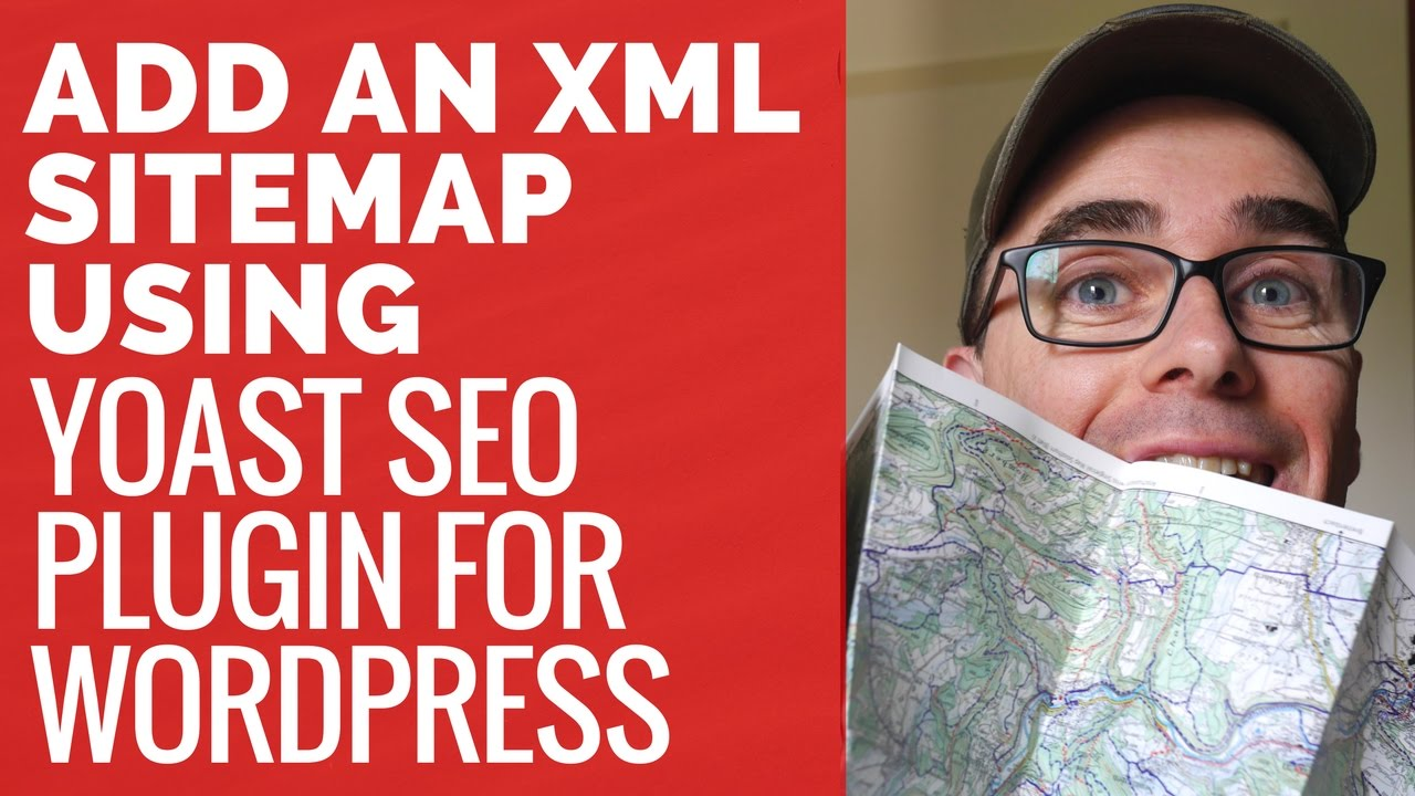 how to add an xml sitemap using yoast seo plugin youtube