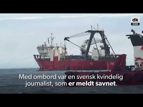 Ubådsejer varetægtsfængslet for drab på svensk kvinde - DR Nyheder