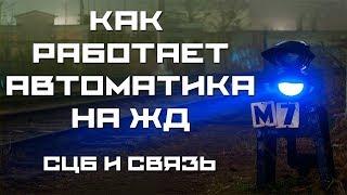 КАК РАБОТАЕТ АВТОМАТИКА НА ЖД - СЦБ (АиТ)
