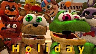 [FNAF SFM] Animatronics on a summer holiday Animation