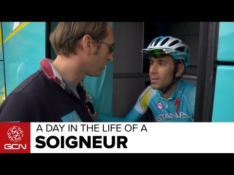 Pro Team Soigneur - A Day In The Life Of