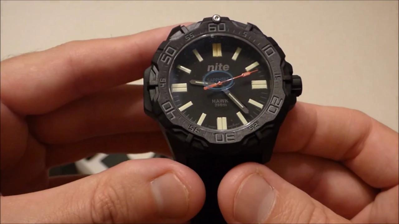 fd0d4c08b739 Nite Hawk T100 Quartz Watch - Unboxing - YouTube