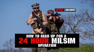 How To Gear Up For A 24 Hour MilSim OP | Part 1 Planning and Research | Airsoftgi.com