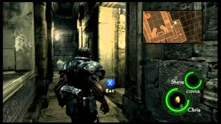 Resident Evil 5 - Rotten Egg Challenge - Chris vs Wesker - Livestream Highlight