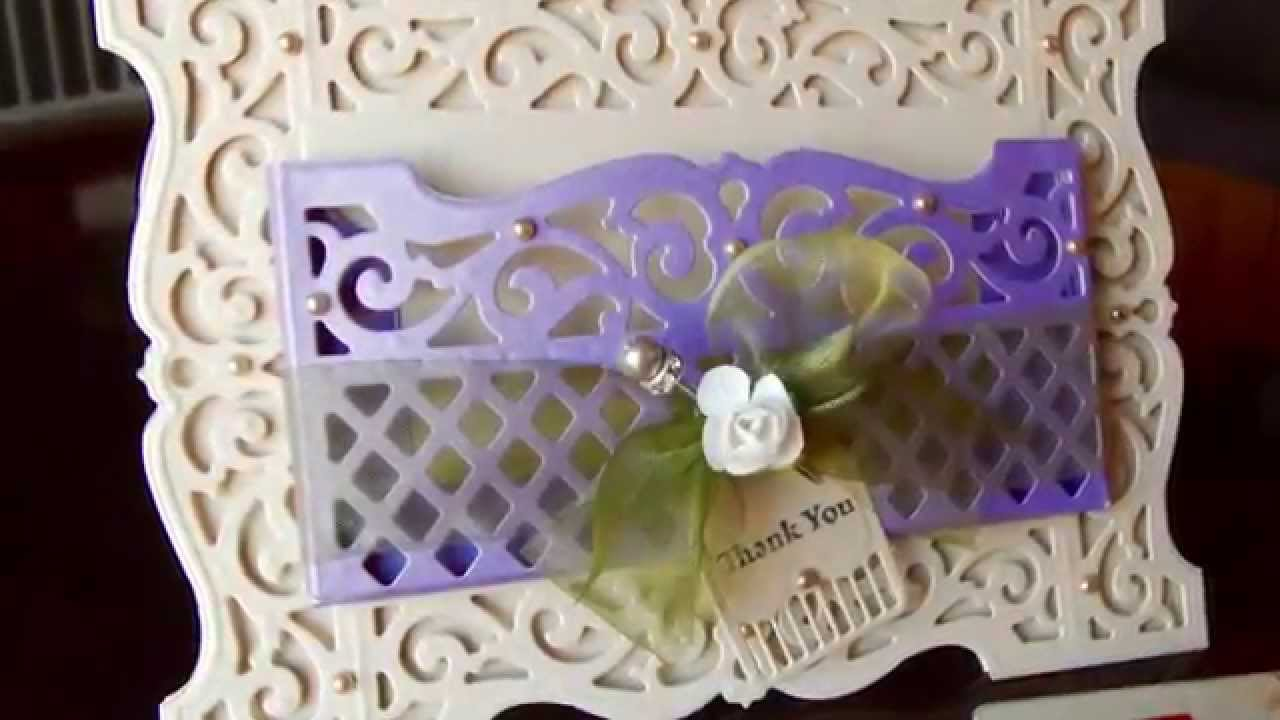 How To Make A Pocket Card Featuring Spellbinders Amazing