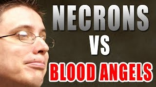Blood Angels vs Necrons Warhammer 40k Battle Report - Beat Matt Batrep Ep 73