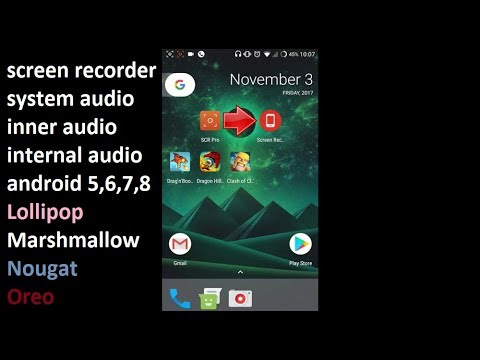 android screen recorder with internal audio apk