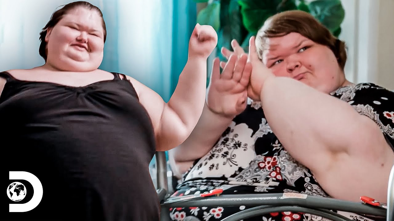 As irmãs Slaton dançam com ajuda de videogame | Amy e Tammy: Irmãs contra o peso | Discovery Brasil