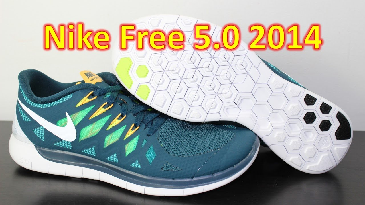 Nike Free 5.0 2014 Nightshade - Unboxing + On Feet - YouTube