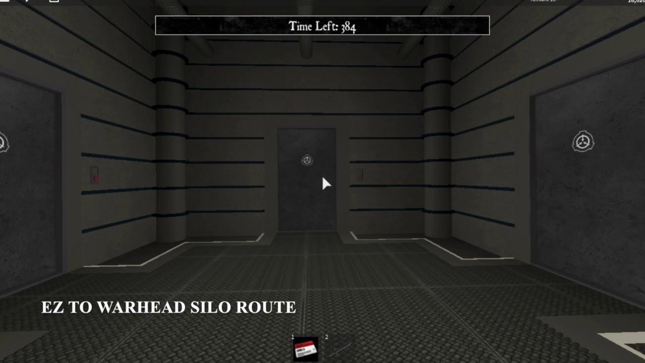 Roblox SCP Containment Breach: Warhead Route