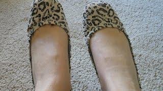 Toms leopard ballet flats review