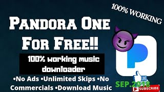 How to get free Pandora One 2018🔥🔥🔥(100% working music downloader) Android