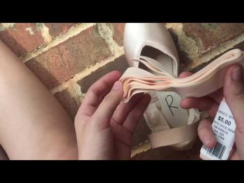 How to Sew and Tie your Pointe Shoes