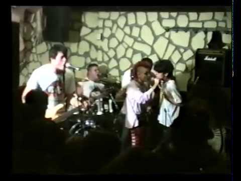 NEKROFILIA   concierto despedida EN BAR SKORPIONS    terrassa 1996
