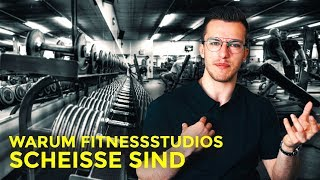 Warum Fitnessstudios Scheisse sind | Tim Gabel