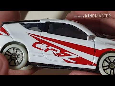 รีวิวโมเดลรถHonda CR-Z 2017 4K Video