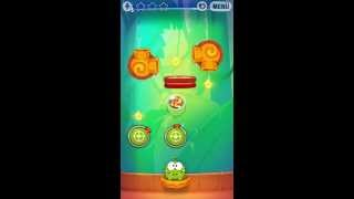 Cut The Rope Experiments - Level 8-21 - Bamboo Chutes - Bambuswald