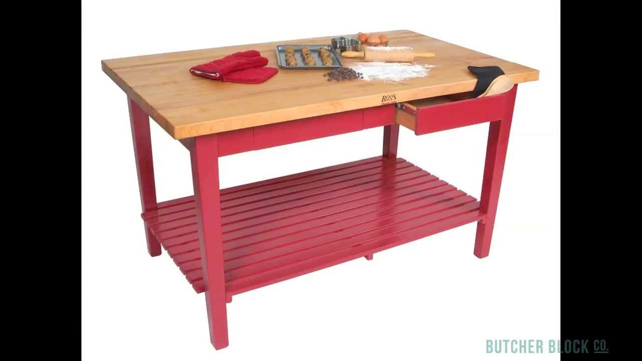 John Boos Classic Country Work Table Review | Butcher Block Co.