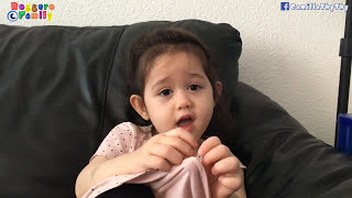 """Khi bà nhí 3 tuổi cãi mẹ/""""Vì con không khoái bạn"""" - Annalisa LyLy"""