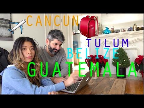SPONTANEOUS COUPLE BACKPACKING TRIP | MEXICO, BELIZE, GUATEMALA | TRAVEL VLOG 001