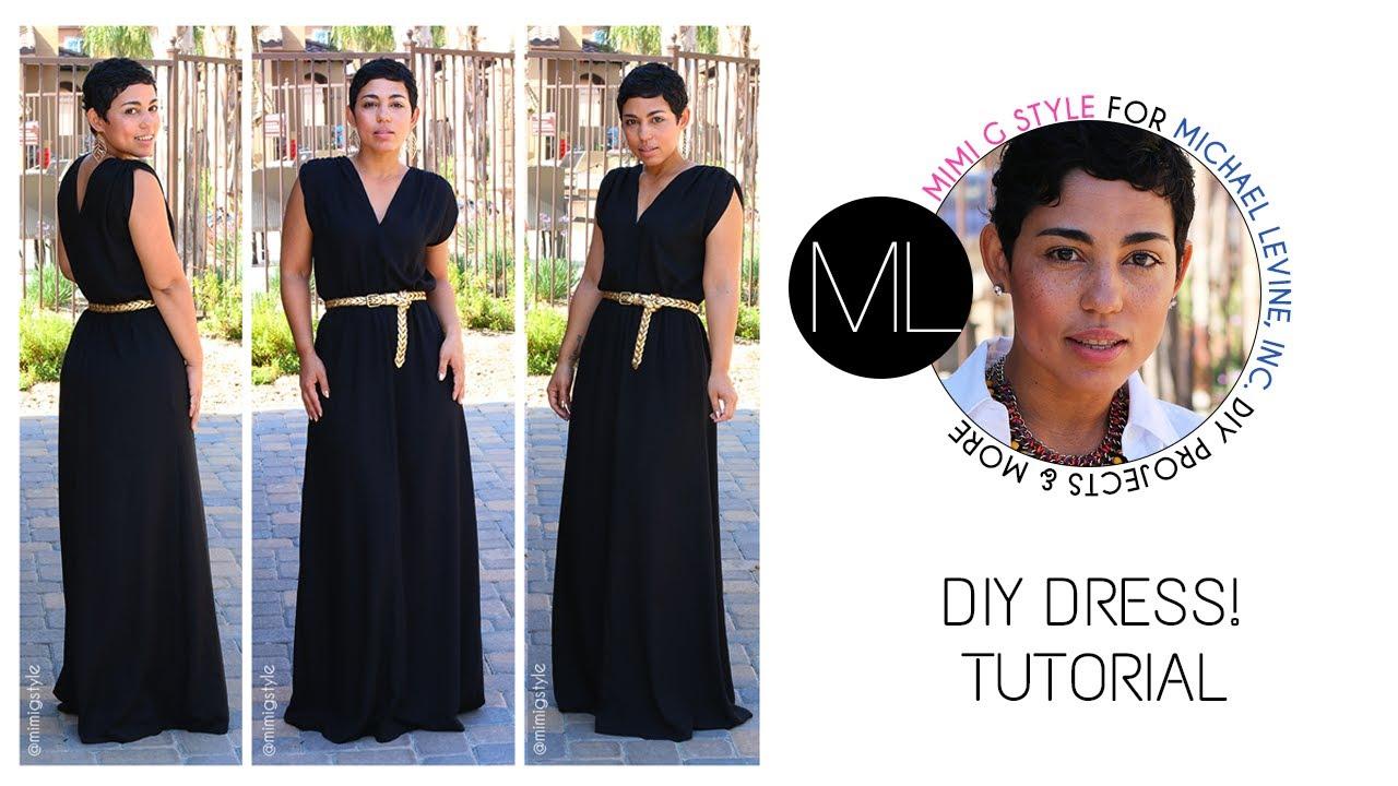 DIY Maxi Dress Tutorial