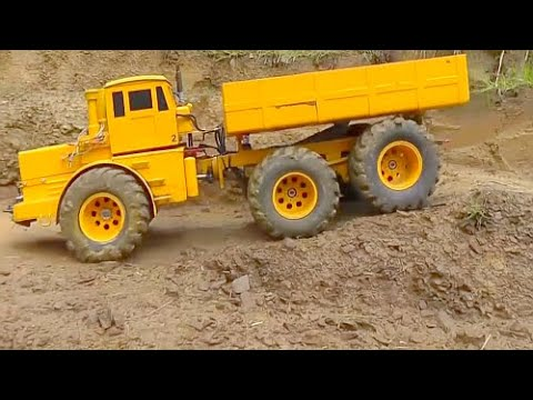 MAN auf Abwegen l RC TIPPER l RC DUMP TRUCK l  RC BUILDING MACHINES l  BEST MACHINES l