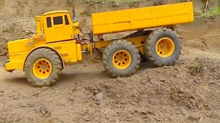 MAN auf Abwegen lHEAVY RC TIPPER l RC MACHINES TRUCK! RC BUILDING MACHINES l RC LIVE ACTION FOR KIDS