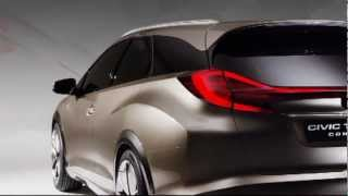 Honda Civic Tourer Concept 2013 Videos