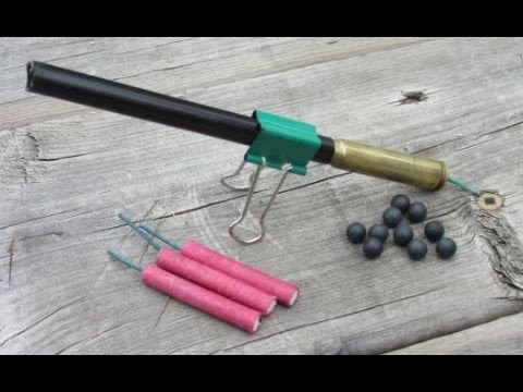 Thumbnail: Make an Easy Firecracker Cannon | Old Bullet Cartridge $2