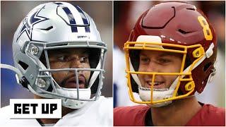 Cowboys or Washington Football Team: Who wins the NFC East next season?   Get Up