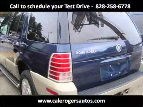 2005 mercury mountaineer used cars asheville nc youtube. Black Bedroom Furniture Sets. Home Design Ideas