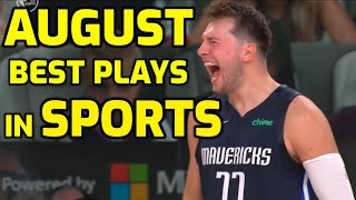 August Top 50 Sports Plays of the Month | Highlights \u0026 Best Moments