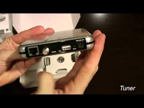 Unboxing DVB-S & DVB-S2 tuner eyetv netstream sat from elgato com