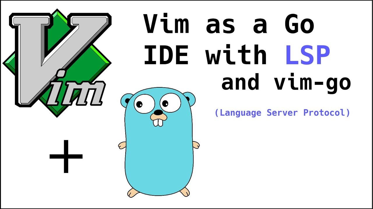 Vim as a Go (Golang) IDE using LSP and vim-go