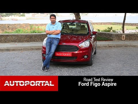Ford Figo Aspire Test Drive Review - Autoportal