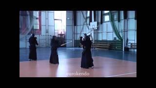 Yamanaka Sensei (8 Dan Hanshi) vs Hara Sensei (7 Dan Kyoshi): Keiko demo