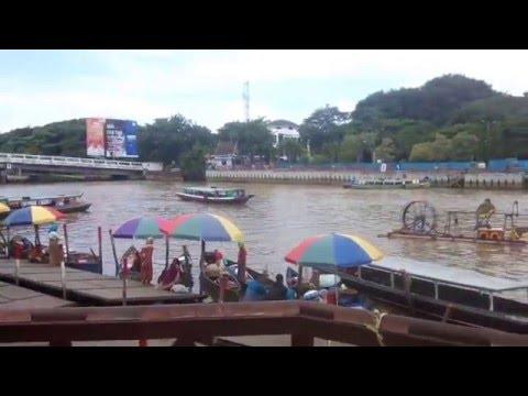 Travel River Down..Liburan disiring Banjarmasin,south Borneo..travel river down