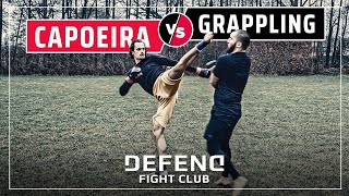 CAPOEIRA vs. GRAPPLING | MMA-Streetfight | DFC